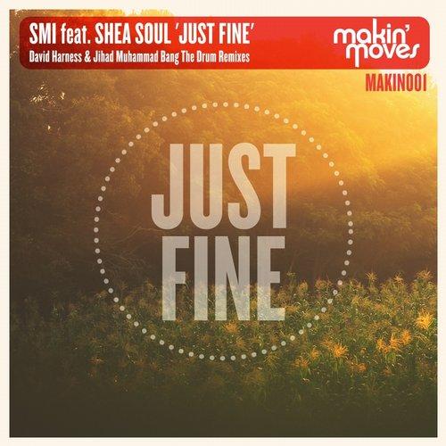 Album Art - Just Fine inc. David Harness & Jihad Muhammad Bang The Drum Remixes (feat. featuring Shea Soul)