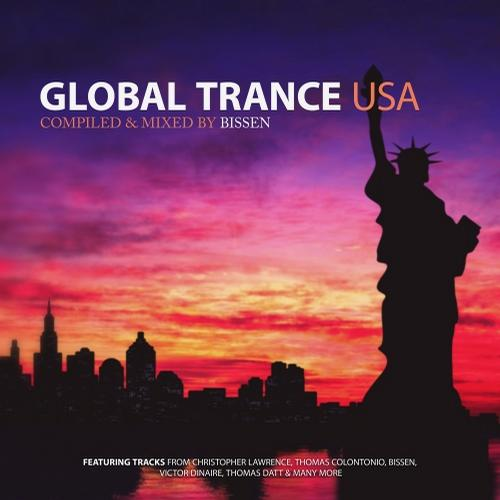Album Art - Global Trance USA (Mixed by Bissen)