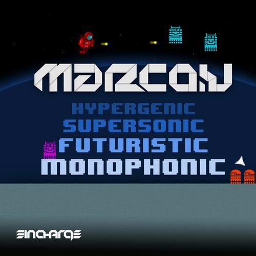 Hypergenic Supersonic Futuristic Monophonic Album Art