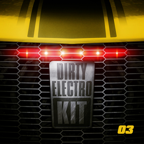Album Art - Dirty Electro Kit - Part 3
