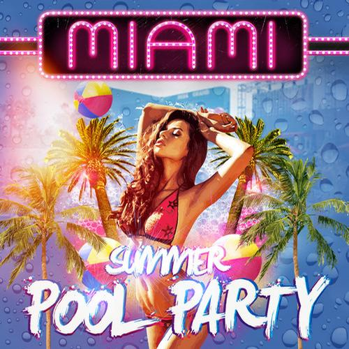 Miami Summer Pool Party Album Art