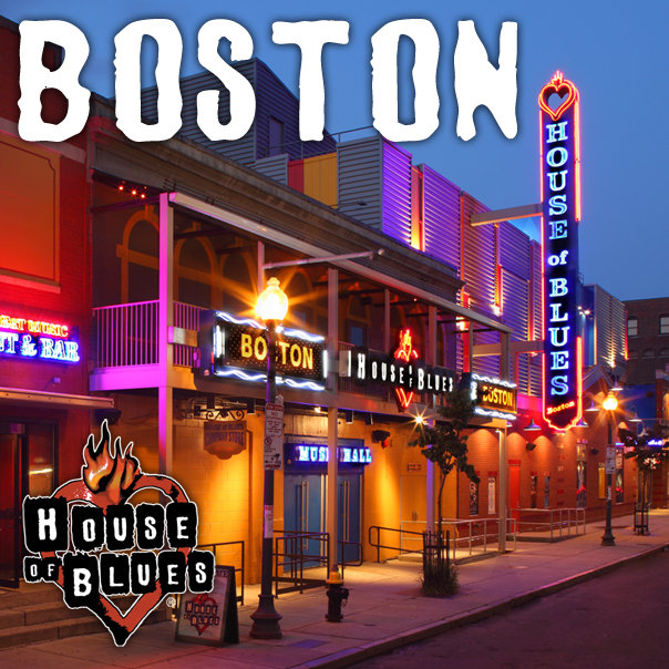 House of blues boston events calendar and tickets for Housse of blues