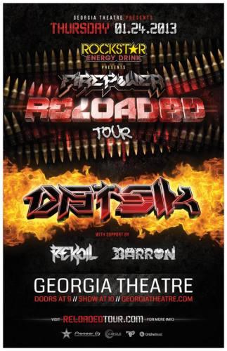 Datsik @ Georgia Theatre