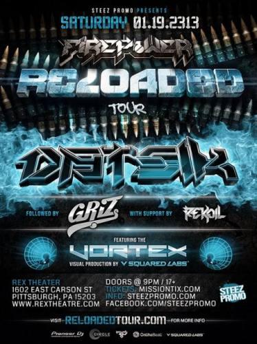 Datisk w/ GriZ @ Rex Theater