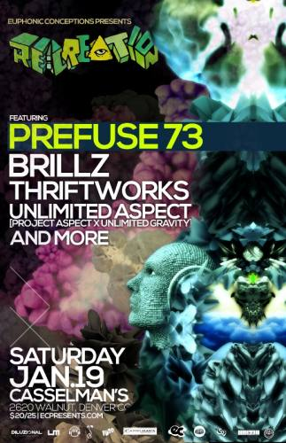 RE:CREATION: Prefuse 73 & More (Denver, CO)
