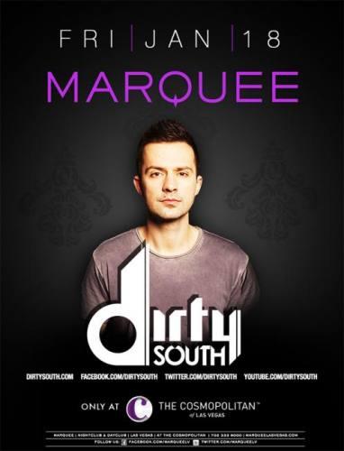 Dirty South @ Marquee Nightclub (01-18-2013)