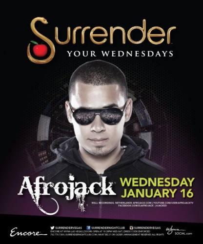 Afrojack @ Surrender Nightclub