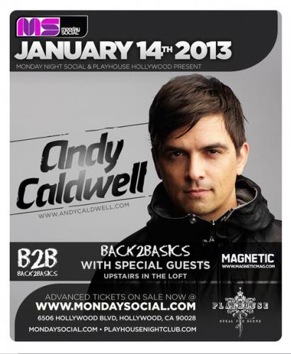 Andy Caldwell @ Playhouse (01-14-2013)