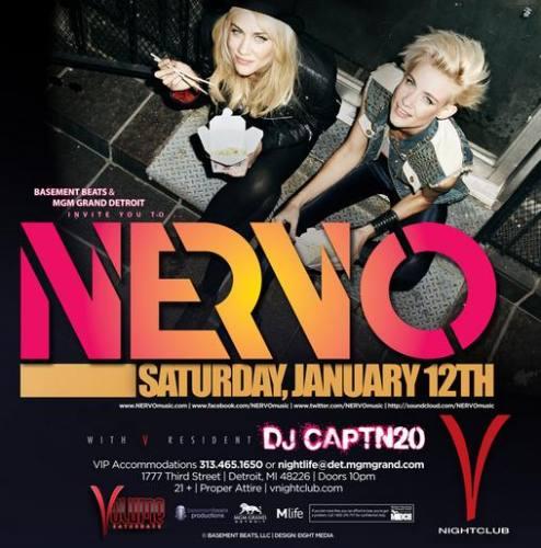 Nervo @ V Nightclub - MGM Grand Detroit
