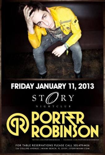 Porter Robinson @ STORY Miami