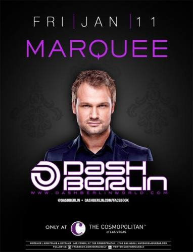 Dash Berlin @ Marquee Nightclub