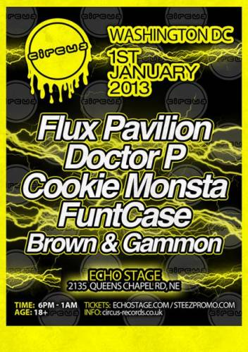 Flux Pavilion, Doctor P & more @ Echostage