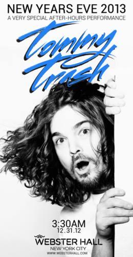Tommy Trash @ Webster Hall (01-01-2013)