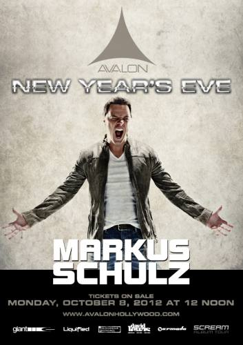 Markus Schulz @ Avalon Hollywood (New Years Eve)