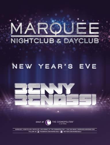 Benny Benassi @ Marquee Nightclub (12-31-2012)