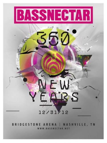 Bassnectar 360 @ Bridgestone Arena (New Years)