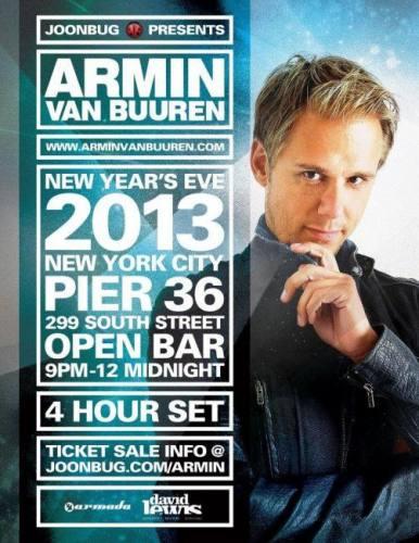 Armin van Buuren @ Pier 36