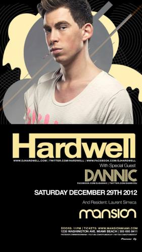 Hardwell @ Mansion (12-29-2012)