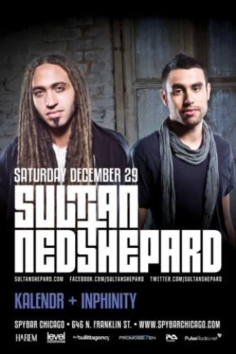 Sultan + Ned Shepard @ Spybar