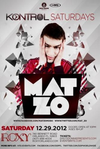 Mat Zo @ Roxy - Orlando