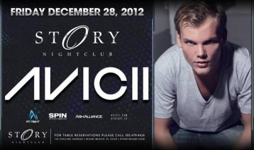 Avicii @ STORY Miami