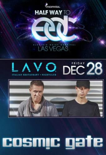 Cosmic Gate @ LAVO Las Vegas