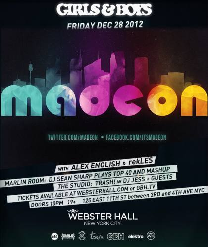 Madeon @ Webster Hall