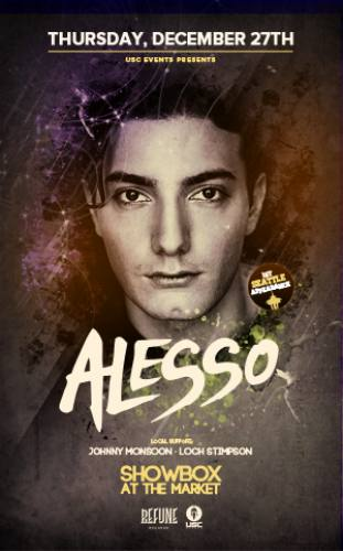 Alesso @ Showbox at the Market