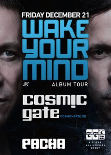 Cosmic Gate @ Pacha NYC (12-21-2012)