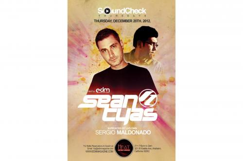 Sean Tyas @ Heat Ultra Lounge