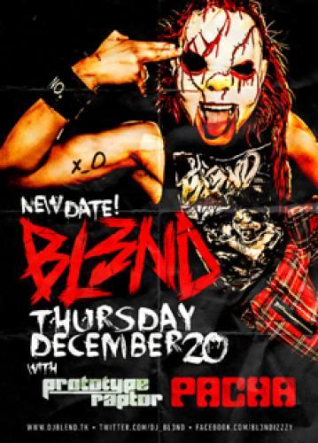 DJ BL3ND @ Pacha NYC (12-20-2012)