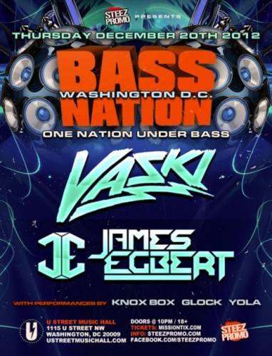 Vaski & James Egbert @ U Street Music Hall