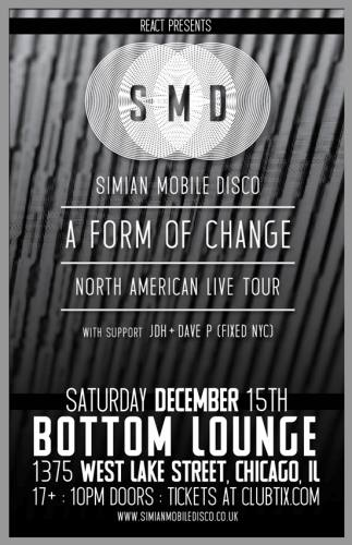 Simian Mobile Disco @ Bottom Lounge