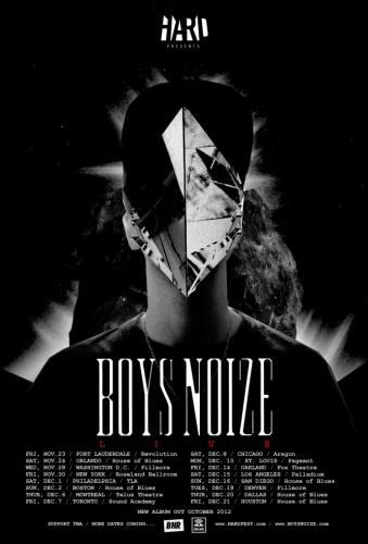 Boys Noize @ Fox Theatre - Oakland