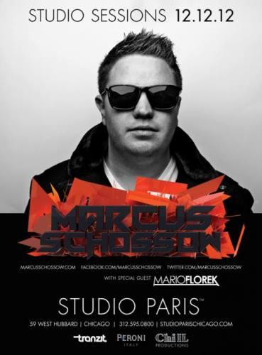 Marcus Schossow @ Studio Paris