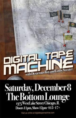 Digital Tape Machine @ Bottom Lounge