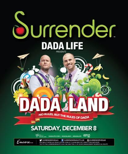Dada Life @ Surrender Nightclub (12-08-2012)