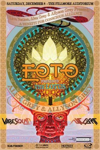 Alex & Allyson Grey Net of Being Tour: EOTO w/ VibeSquaD & NiT GRiT (Denver, CO)