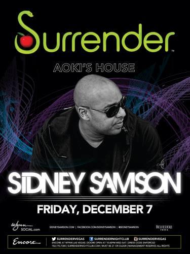 Sidney Samson @ Surrender Nightclub (12-07-2012)