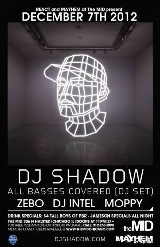 DJ Shadow at The Mid
