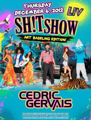 Cedric Gervais @ LIV Nightclub (12-06-2012)