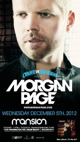 Morgan Page @ Mansion (12-05-2012)