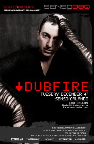 Dubfire @ Senso Supperclub