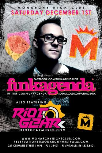 Funkagenda @ Monarchy Nightclub (12-01-2012)