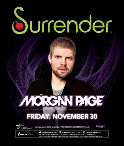 Morgan Page @ Surrender Nightclub (11-30-2012)
