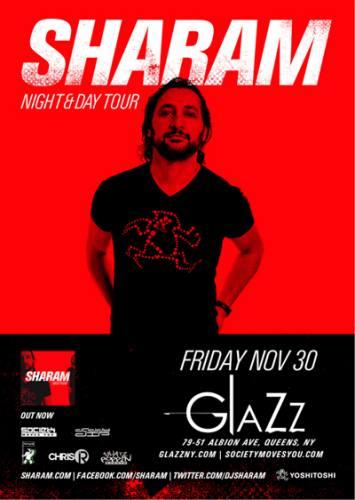 Glazz House Fridays w/ Sharam  11/30