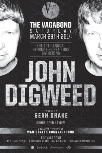 John Digweed @ The Vagabond (03-29-2014)