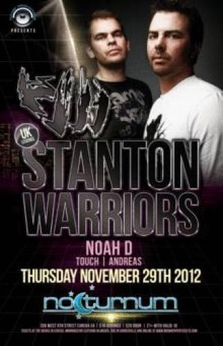 Stanton Warriors @ Nocturnum