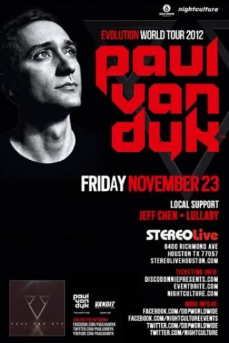 Paul van Dyk @ Stereo Live (11-23-2012)