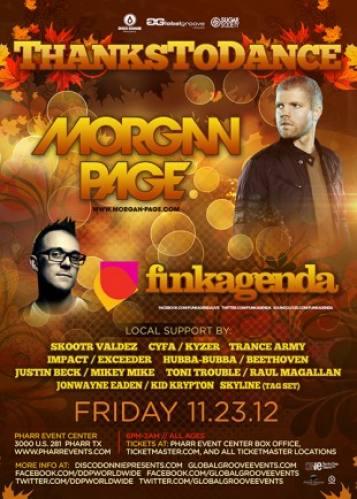 Morgan Page & Funkagenda @ Pharr Events Center